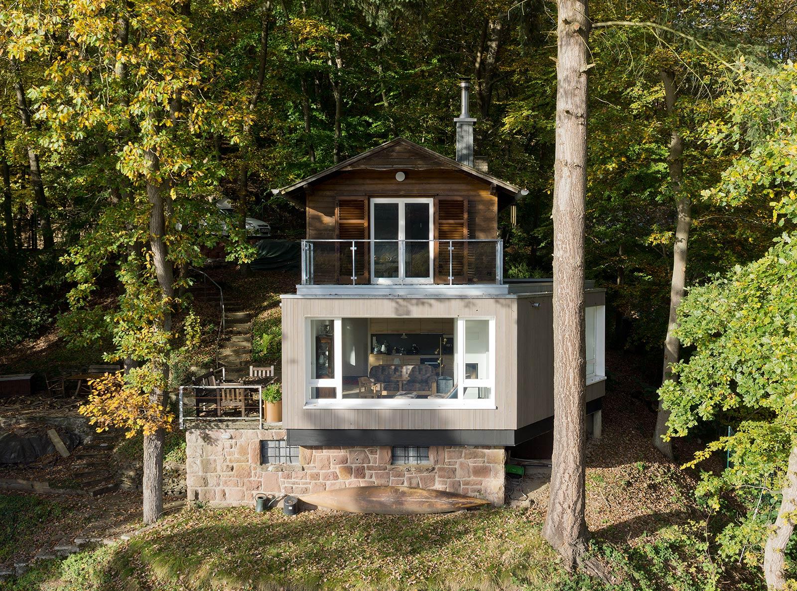 Ferienhaus Container architekten lhvh architekten